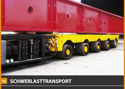 5.Schwerlasttransport